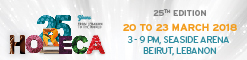 HORECA LEBANON 18 - 20 March 2018