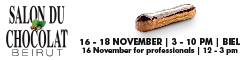 Salon du Chocolat Beirut - 16 November 2017